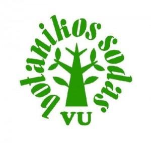 VU Botanikos sodas logo